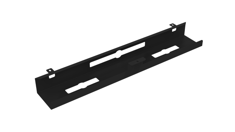 Cable Management Tray -Black- Navodesk